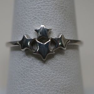 Sterling Silver (.925) 4 Stars Rings